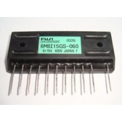 6MBI15GS-060 6X15A 600V